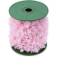 shufang-kitchen, Multifunctionl DIY perlas boda decoracion (color:Pink)