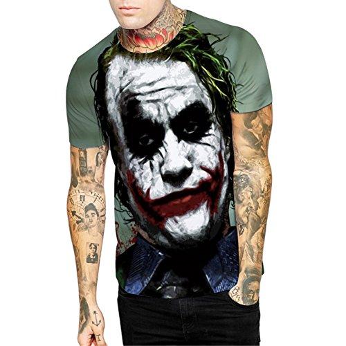 Heißer Verkauf Männlichen Realistische Zombie Sommershirt Halloween Kostüm Lustige T Shirt (Halloween Kostüme Beste Lustige Freund)