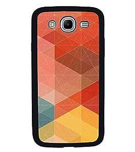 Fiobs High Glossy Designer Phone Back Case Cover Samsung Galaxy Mega 5.8 I9150 :: Samsung Galaxy Mega Duos 5.8 I9152 ( Colorful Pattern Design )
