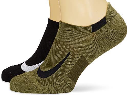 Nike Unisex Erwachsene Sneakersocken (2 Paar), Mehrfarbig (934), L