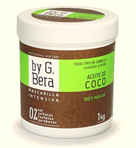 Professionelle Haarmaske– von G. Bera - 100 % natürliches Kokosöl