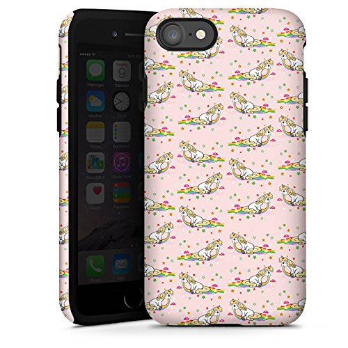 Apple iPhone X Silikon Hülle Case Schutzhülle kotze cute kawaii Tough Case glänzend