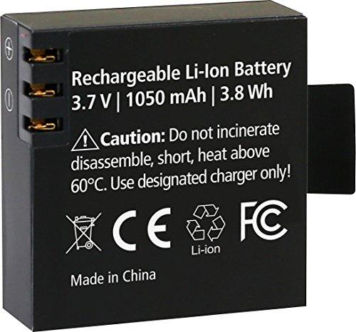 Rollei Akku AC 530/630 - Lithium-Ionen-Akku (3,7 V / 1050 mAh) - Schwarz