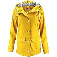 DERBE Damen Regenjacke Peninsula Fisher gelb yellow