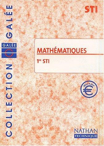 Mathématiques,1ère, Bac STI