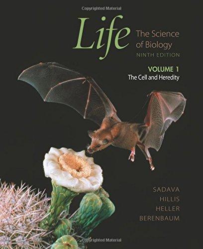 Life Volume I The Cell and Heredity: The Science of Biology: 1 (Life: The Science of Biology) by David Sadava (2010-07-01)