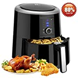 Best Oil Less Fryers - Air Fryer, HABOR 5.5L, 1800W, Digital Air Fryer Review