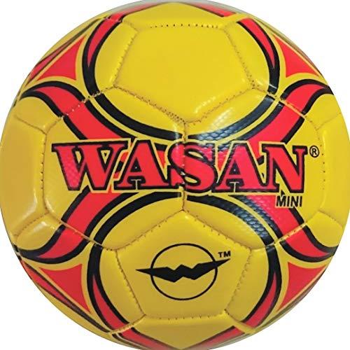 Wasan Mini Football Size 1   Yellow  Under 5 Years