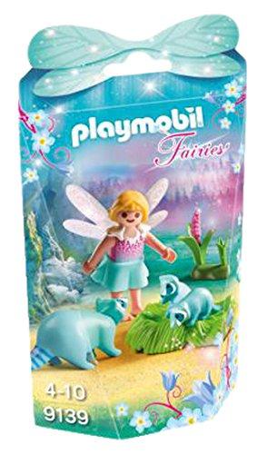 Playmobil Hadas-9139 Niña con Mapaches