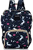 Foolzy Diaper Bag Backpack Baby Bag Multifunction Maternity Travel Changing Pack - Water