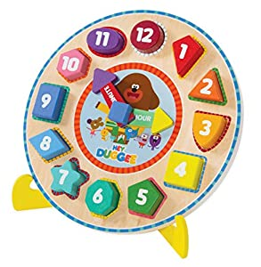 Hey Duggee 9039 - Reloj de Pulsera con Soporte, Multicolor