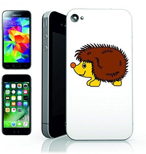 Smartphone Case Riccio di animale del fumetto di picco per Apple Iphone 4/4S, 5/5S, 5C, 6/6S, 7& Samsung Galaxy S4, S5, S6, S6Edge, S7, S7Edge Huawei HTC–Divertimento Motiv di culto Idea Regal