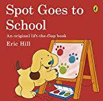 Spot Goes to School is a classic Spot book by Eric Hill  Spot's first day at school turns out to be an exciting adventure as he and his friends take their first steps into the world of learning. This book is the perfect tool for parents readying them...