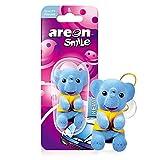 AREON Smile Deodorante Auto Nuova Elefante Blu Divertente da Appendere Specchietto Retrovisore Simpatico 3D (New Car Confezione da 1)