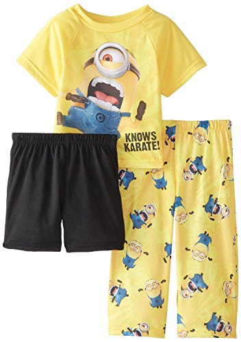 KARATE Minion 3piezas Juego de pijama