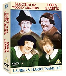 Laurel And Hardy - Bogus Bandits / March Of The Wooden Soldiers [1933] [DVD]