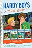Hardy Boys Clue Book 4 books in 1!: The Video Game Bandit; The Missing Playbook; Water-Ski Wipeout; Talent Show Tricks...