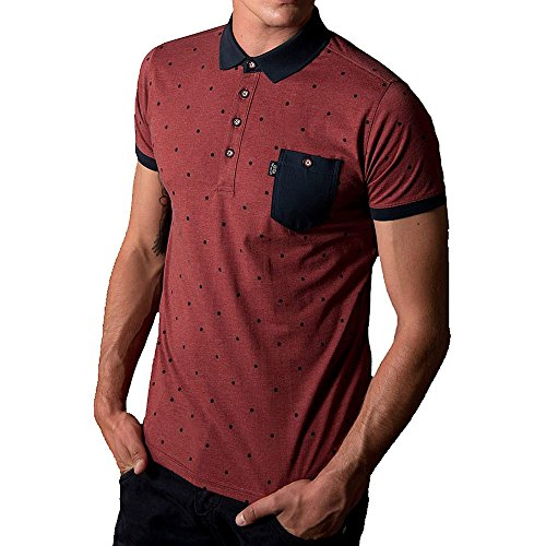 883 Police Radd Polo Shirt | Rosewood Red