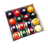 """Homegames Spots and Stripes Pool Table Ball Set UK 2"""" Competition"""