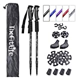 TheFitLife Nordic Walking mountaineering Anti Shock Hiking Trekking Walking Trail Poles, 2-pack, Folding
