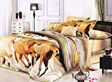 Dekor World 3D Multi Printed Double Beds...