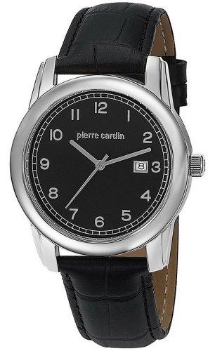 Pierre Cardin - PC104751F06 - Montre Homme - Quartz Analogique - Bracelet Cuir Argent