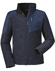 Hombre Forro Polar ejackef Polar Jacket Luzern, color 8180 dress blue, tamaño 54