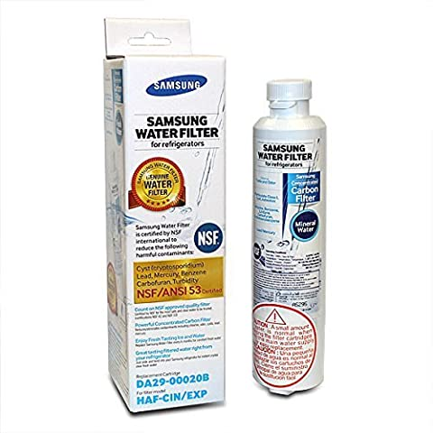 Genuine Samsung Internal Fridge Water Filter Cartridge (DA29-00020B /