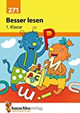 Besser lesen 1. Klasse (Deutsch: Besser lesen, Band 271) - Andrea Guckel