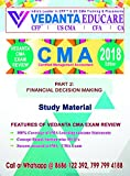 CMA (USA) - PART 1 - Total Set - Financial Reporting, Planning, Performance & Control (Total of 4 Volumes - V1 for Study Material, V2 for Additional Practice, LOSs & Essay Questions, V3 for Practice Questions (1600+), V4 for Solutions) - VEDANTA CMA EXAM REVIEW - 2018 Edition
