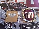 Emblem Fiat 500Cinquecento Abzeichen Logo Premiumqualität hinten Original OEM