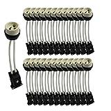 Lot de 25 Douilles GU10 céramique avec domino connecteur - norme CE