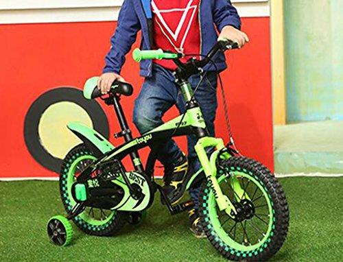 Vélo pour enfants, garçon 3-6-8-10 ans Enfant mâle Voiture bébé École primaire Bicyclette de 14 pouces