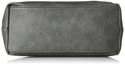 Gabor Damen Noemi Schultertasche, 13 x 27.5 x 36.5 cm Grau (Grau)
