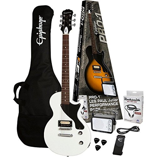 epiphone-pro-1-les-paul-junior-performance-pack-with-rocksmith-alpine-white