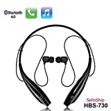 #8: SONY compatible HBS-730 Neckband Bluetooth Headphones Earphones Wireless Sport Stereo Extra Bass Headsets Handsfree with Microphone for Android, Apple Devices, Xiaomi Mi, iPhone, Phillips, JBL, Vivo, Bose, Boat Rockerz, One Plus, Motorola, Mivi, QCY, Samsung, LG Tone mobile devices