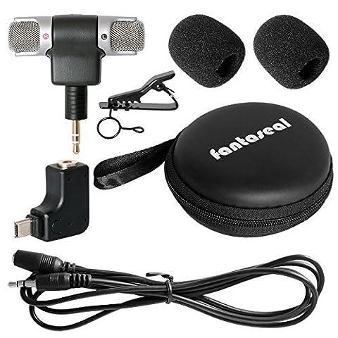 Fantaseal® Micro Kit Mic Kit pour GoPro Micro GoPro Mic
