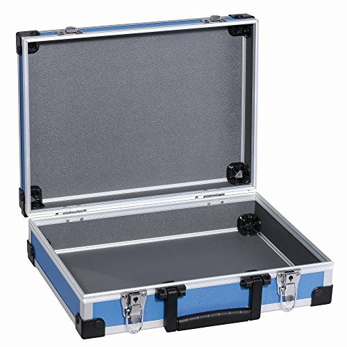 TrendLine Universalkoffer Alu Optik 345x275x110 mm blau