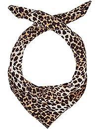 HALLHUBER Leopard print silk scarf