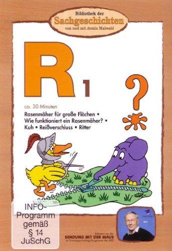 R1 - Rasenmäher für große Flächen/Wie funktioniert ein Rasenmäher?/Kuh/Reißverschluss/Ritter