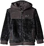 Jack Wolfskin Boys Pine Cone Extra Warm Hooded Fleece Jacket Coat