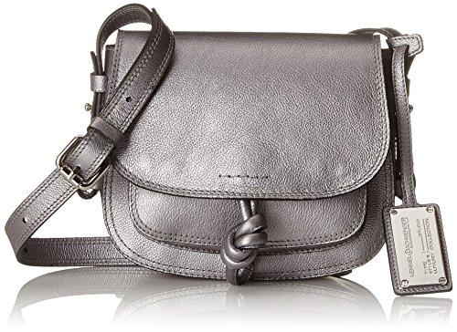 Kennel & Schmenger Damen Taschen Schultertasche, Silber (Alluminio), 5x17x19 cm