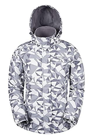 Mountain Warehouse Veste Ski Femme Doublé Polaire Sports Hiver Dawn Gris 48