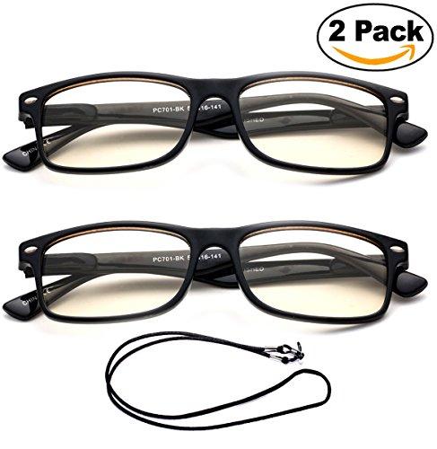 102f5d61e54 Newbee Fashion Reading Glasses Newbee Fashion - Anti-Reflective Comfortable Computer  Reading Glasses (No