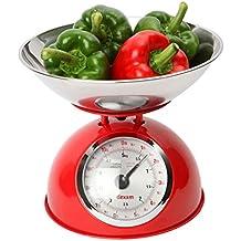 Dexam - Bilancia da cucina vintage 5 kg - Rossa