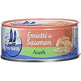 Petit Navire Emietté de Saumon Aneth 110 g - Pack de 12