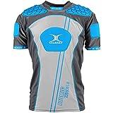 Gilbert Atomic Zenon V2 - Épaulière de Rugby - Bleu Électrique - taille XXL