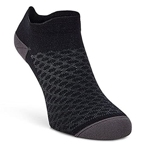Ecco 2017 Active Low Cut Trainer Socks - Black -