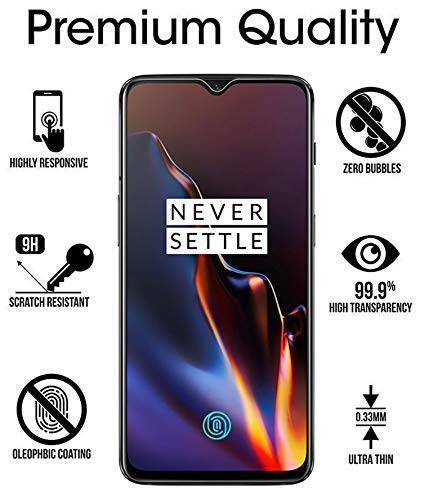 Case Factory 6D Tempered Glass Full Glue Edge – Edge Protection For One Plus 6T