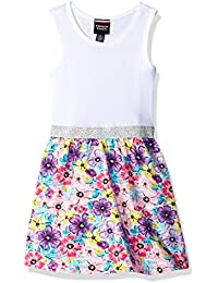 French Toast Girls' Fit and Flare Tank Dress